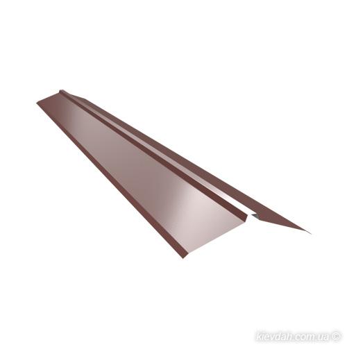 Торцева планка для фальцевої покрівлі